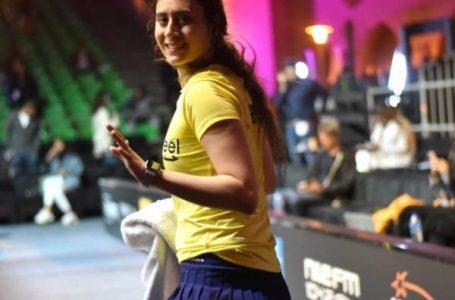 نور الشربيني تتأهل لثمن نهائي بطولة الجونة للإسكواش