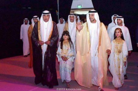 بالصور.. منصور بن زايد يُكرم أصحاب الإنجازات الرياضية