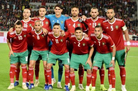 المنتخب الوطني يتقدم بمرتبتين في التصنيف العالمي