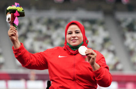 """سعيدة عمودي تهدي المغرب النحاسية في """"البارالمبية"""""""
